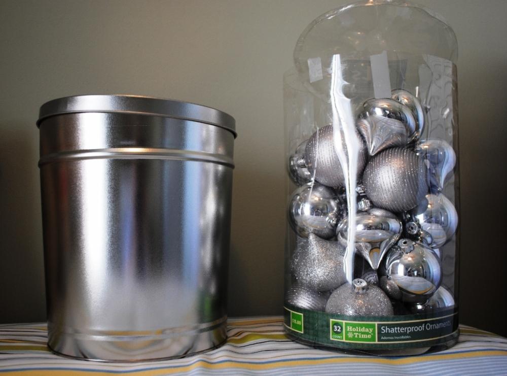 Repurposing a holiday popcorn tin  (2/6)