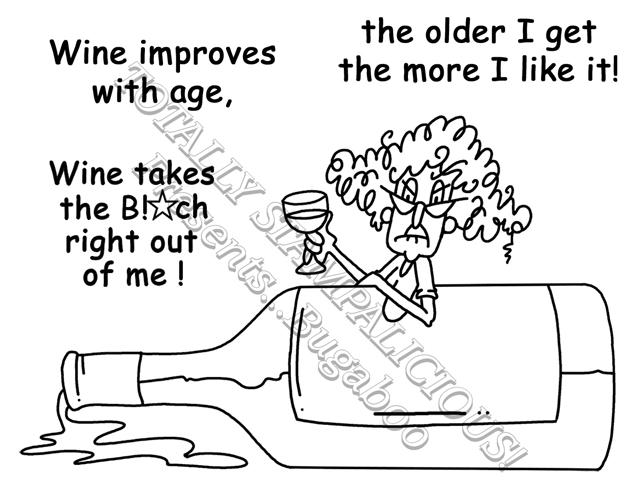 Wine bottle tag (1/3)