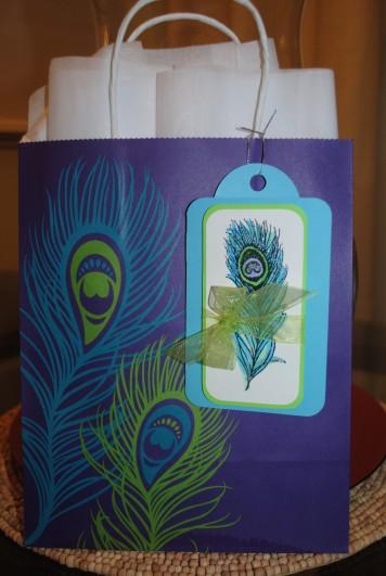 CTMH Circle of Love stamp set, Cricut tag card